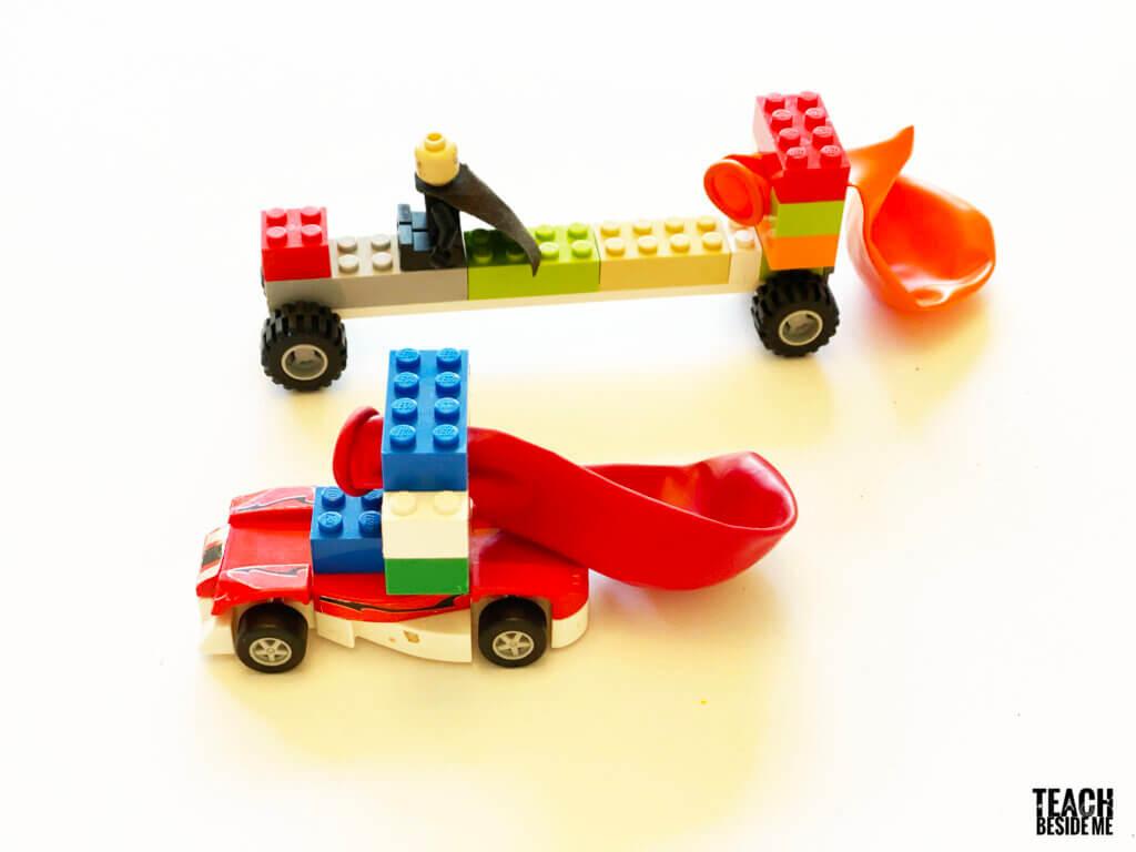 Baloon Lego Car