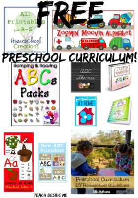 Free Preschool Curriculum