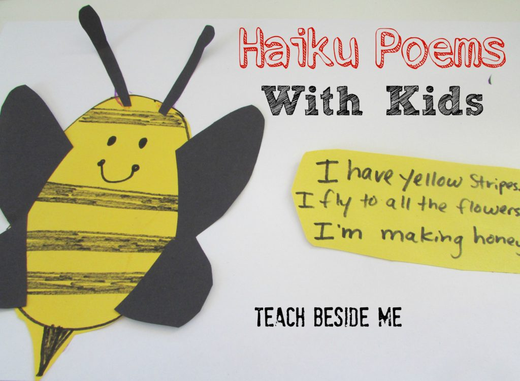 haiku poems with kids craft book list