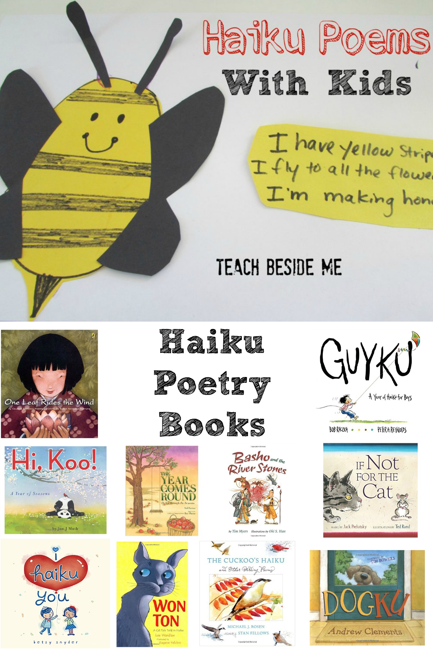 Illustrated Haiku Poems With Kids