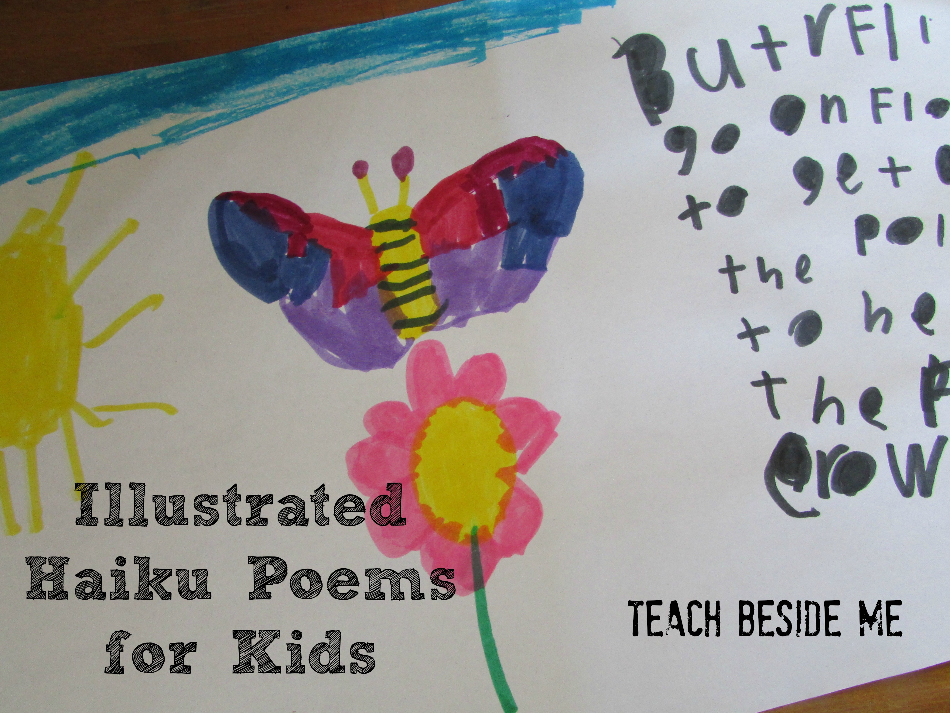 Illustrated Haiku Poems With Kids - Teach Beside Me