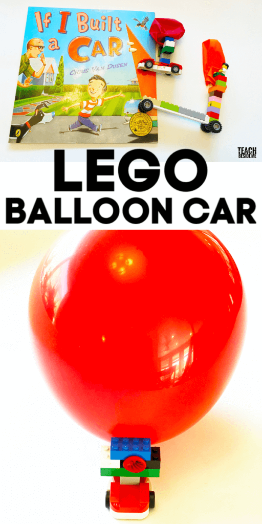 LEGO Balloon Powered Car