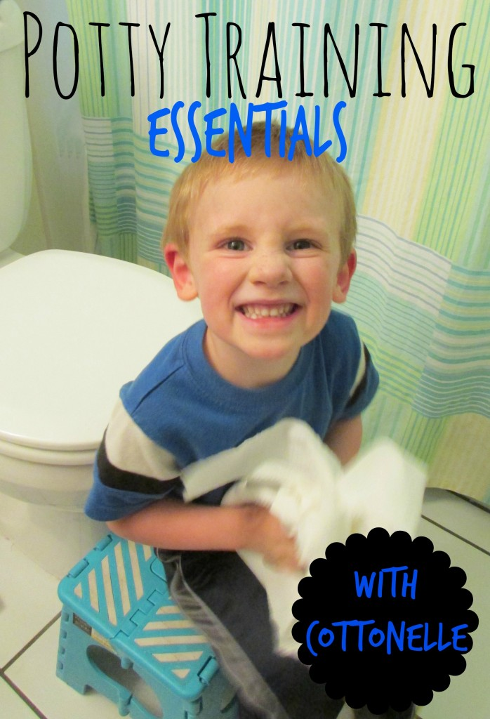 Potty Training Essentials With Cottonelle