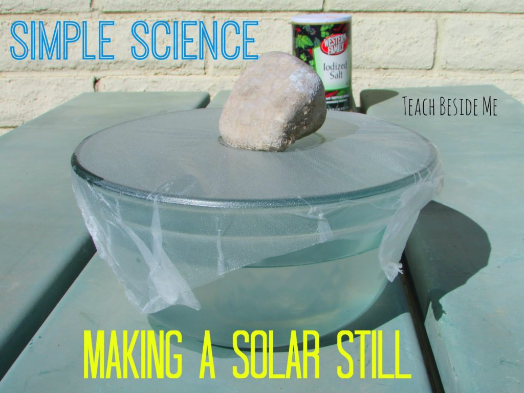 Simple Science Making a Solar Still