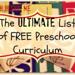 Ultimate List of Free Preschool Curriculum Resources