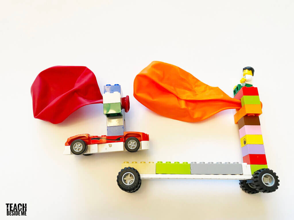 balloon powered cars