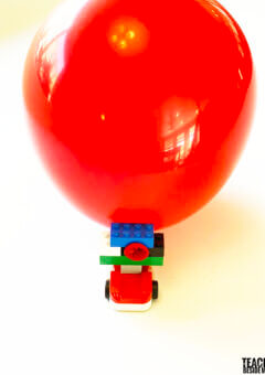 LEGO Balloon Powered Car~ If I Built a Car