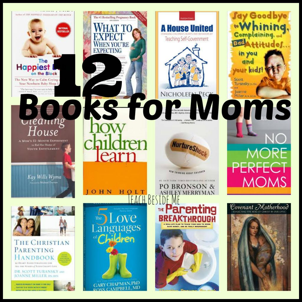 12 Books for Moms