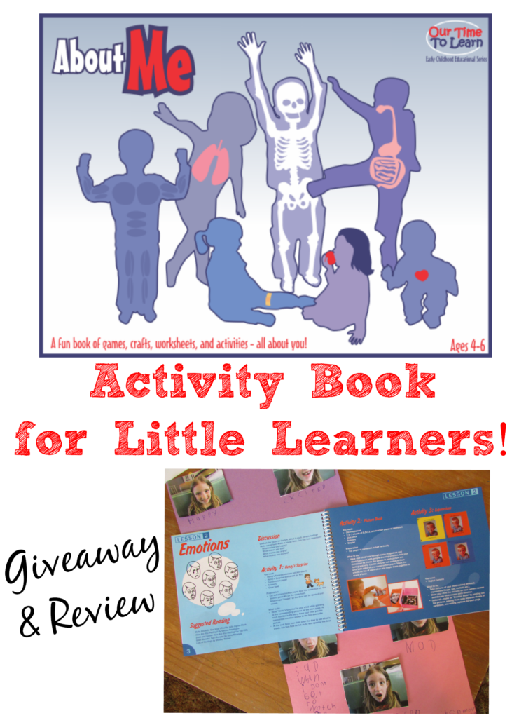 About Me Activity Book Review & Giveaway