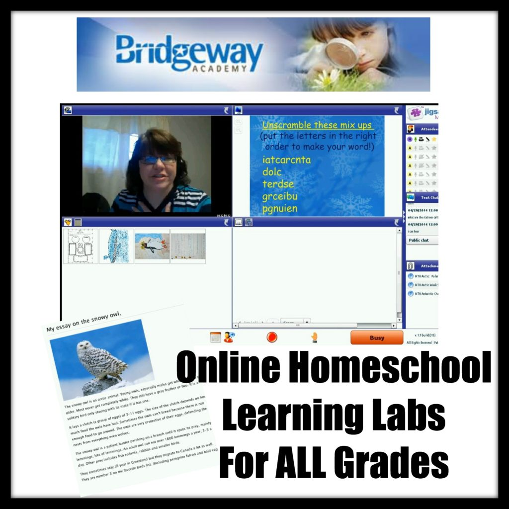 Bridgeway Academy Online Homeschool Program