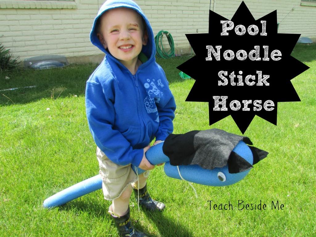 Pool Noodle Stick Horse