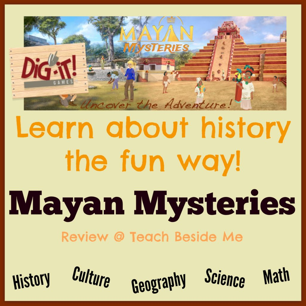 mayan Mysteries educational game