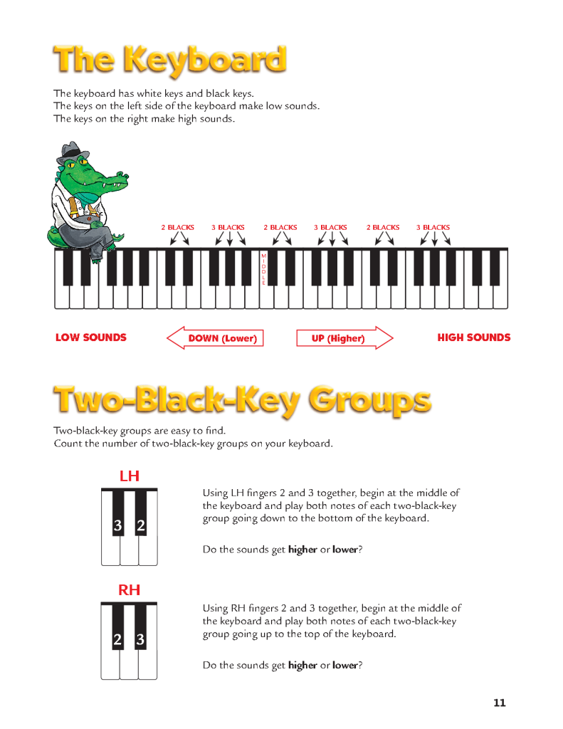 alfred piano for beginners