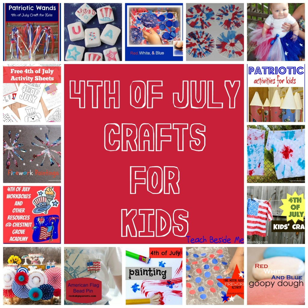 4th of July Crafts for Kids from Share It Saturday