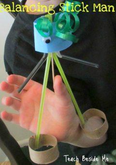 Balancing Toy Stick Man