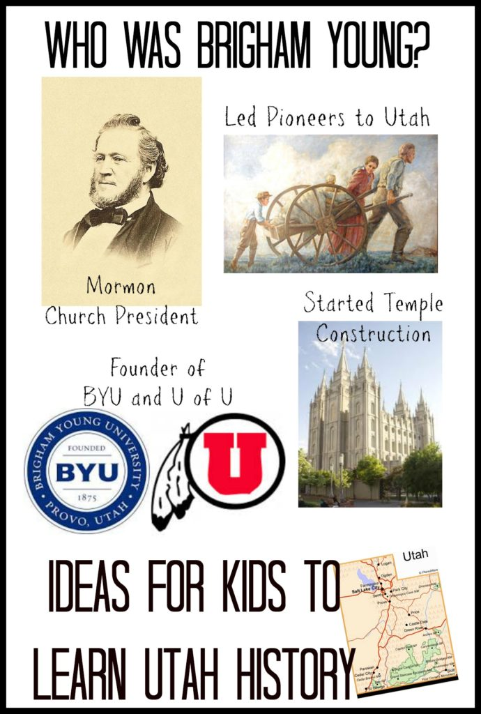 Brigham Young- Utah State History for Kids