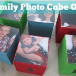 Homemade Photo Cube Gift
