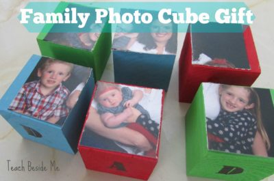 Family Photo Cube Gift- Fathers Day