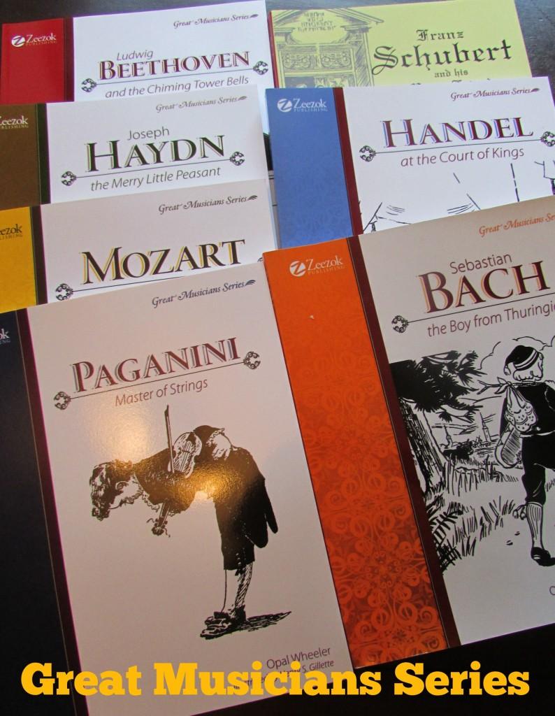 Great Musicians Book Series