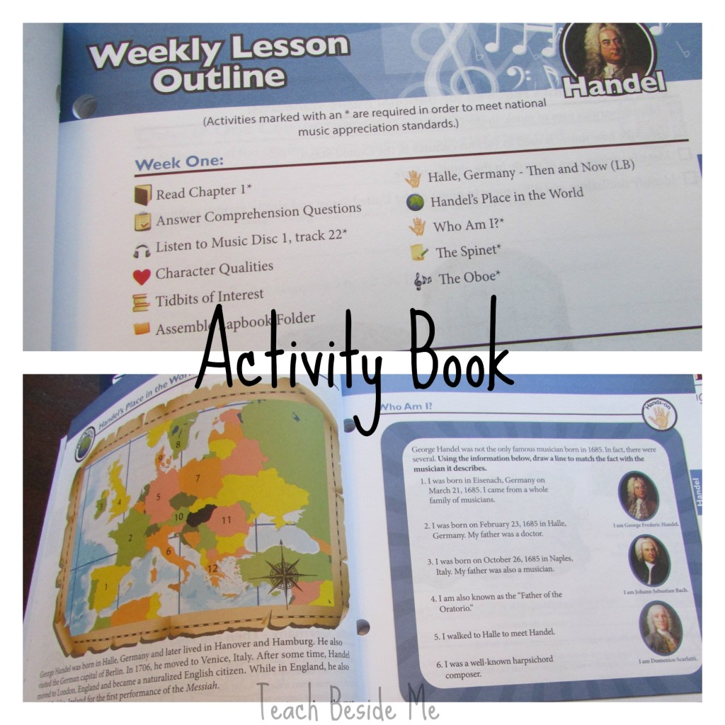 Music Appreciation Activity Book