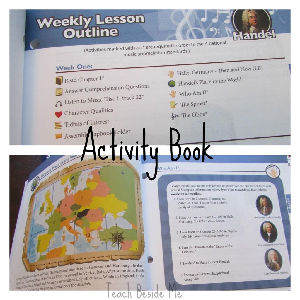 Music Appreciation Activity Book