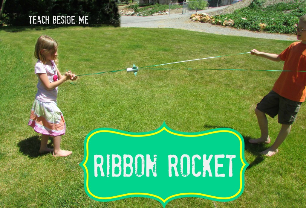 Ribbon Rocket - Summer Craft