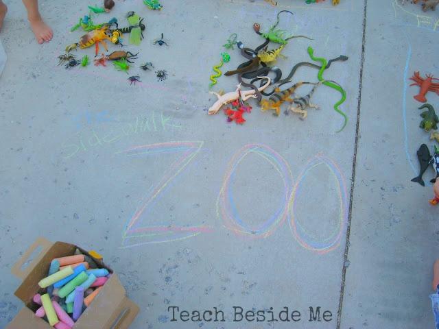 Sidewalk Chalk Zoo