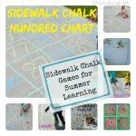 Summer Sidewalk Chalk Learning Games