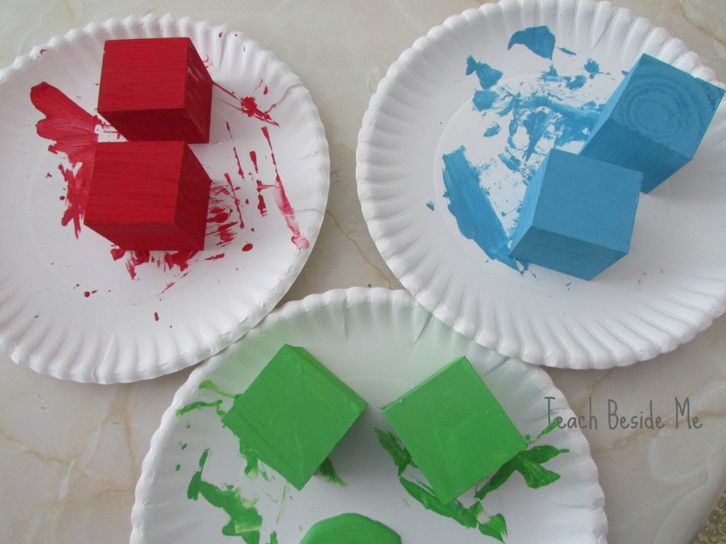 painted cubes