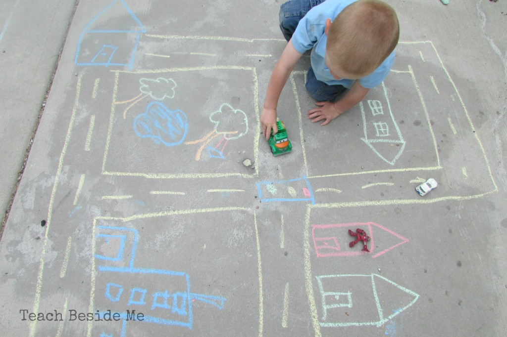sidewalk chalk city