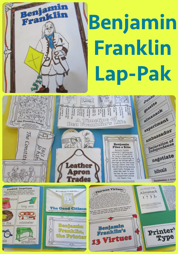 Benjamin Franklin Lapbook Unit Study