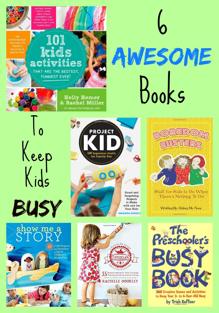 Books That Keep Kids Busy