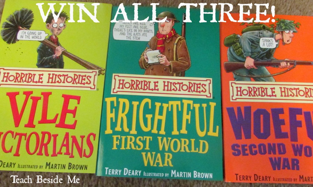 Horrible Histories Book Giveaway