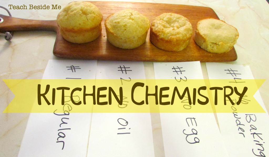 kitchen chemistry cake experiment teach beside me