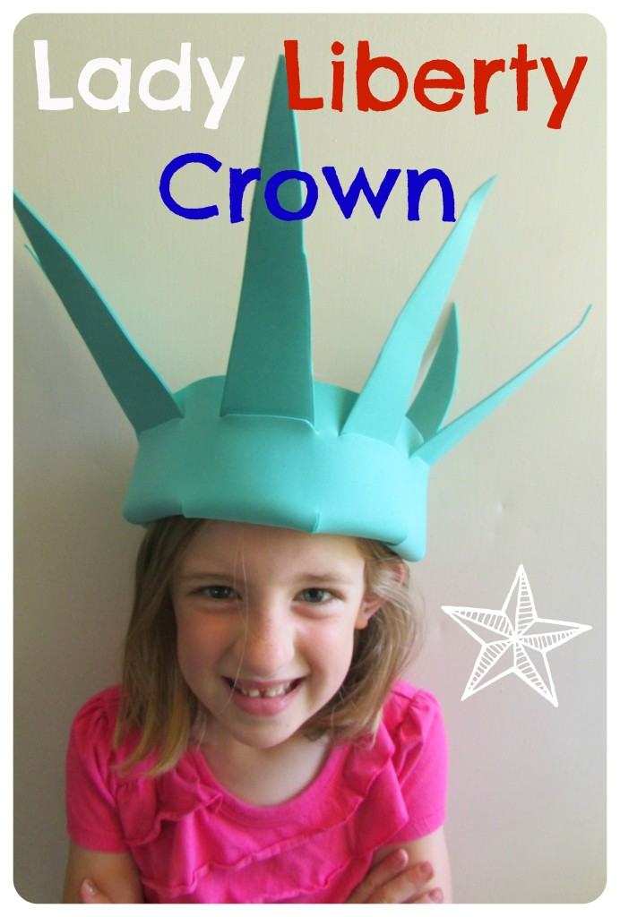Lady Liberty Crown Craft