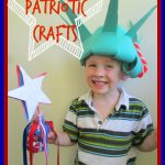 Patriotic Shaker & Lady Liberty Crown Craft