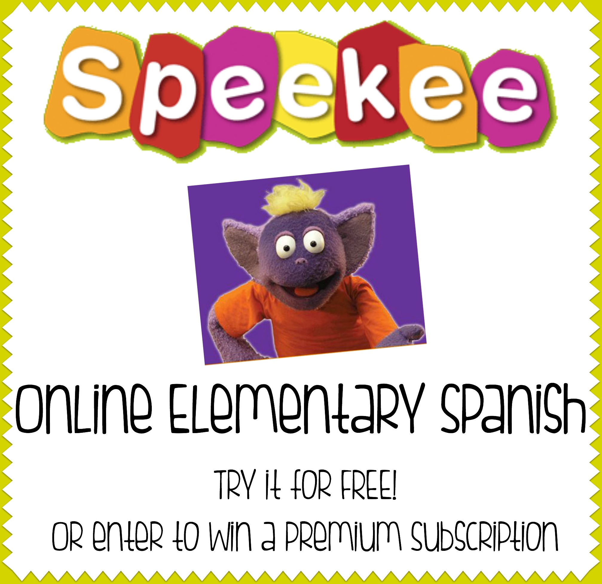 Online Elementary Spanish {GIVEAWAY!}