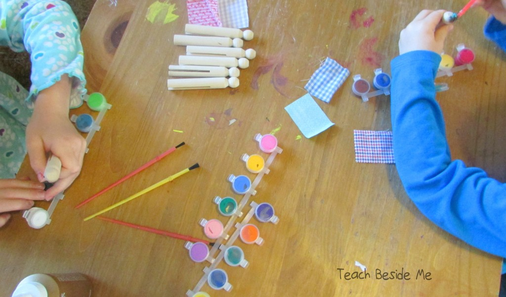 making clothespin dolls