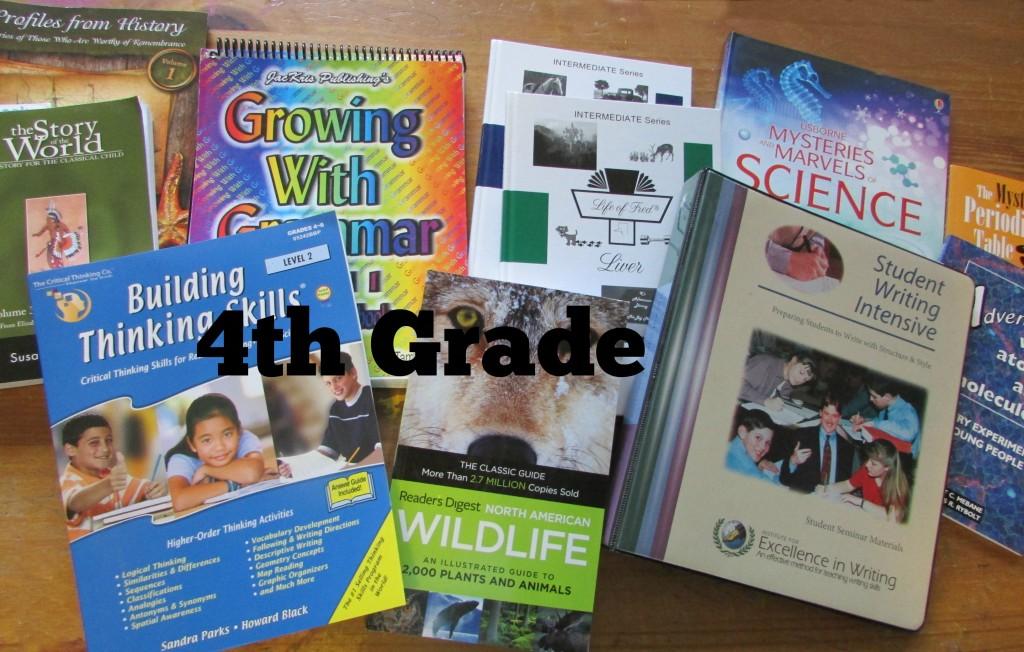 4th Grade homeschool