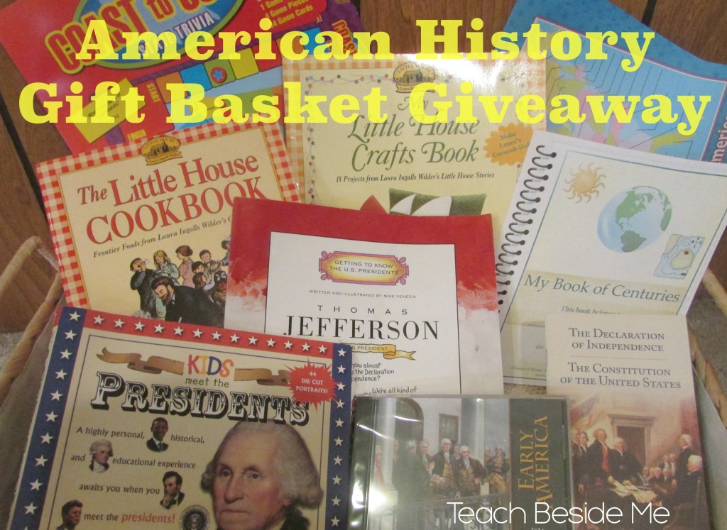 American History Gift Basket Giveaway