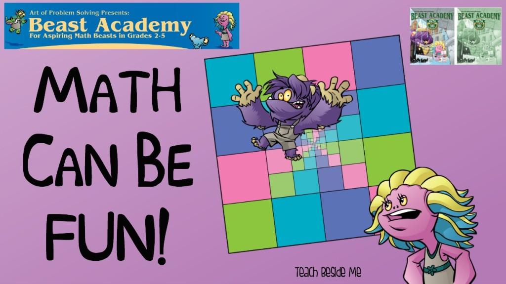 Beast Academy Math- Fun Elementary Math
