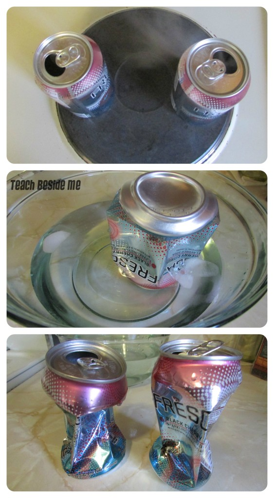 Garbage Science Crushing a Can in Water