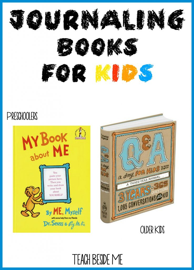 Journaling Books for Kids