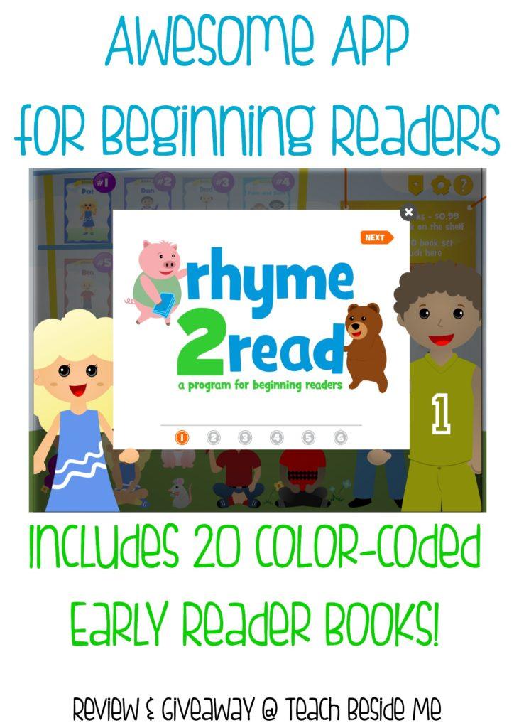 Reading App for Beginning Readers