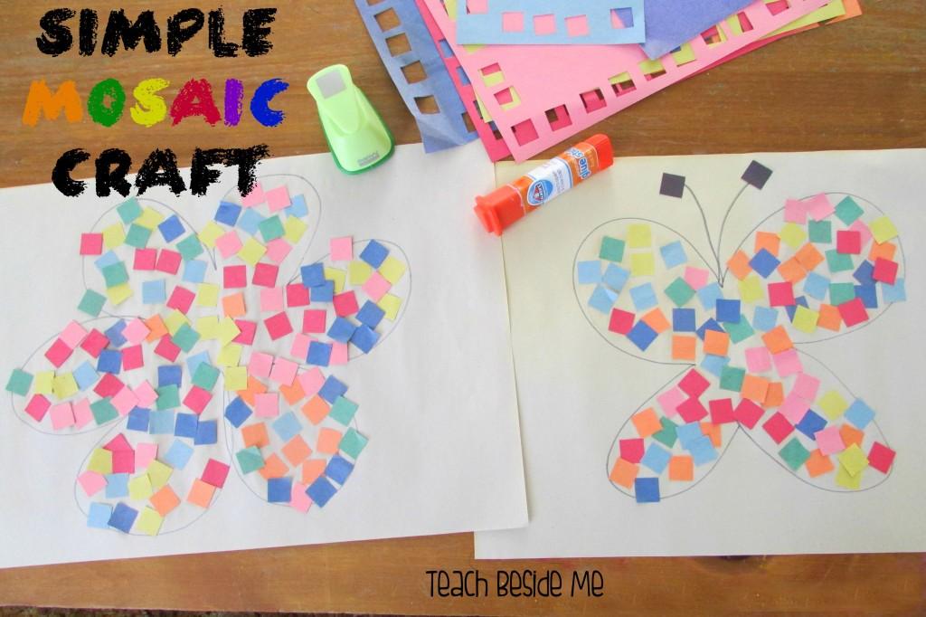 Simple Mosaic Craft