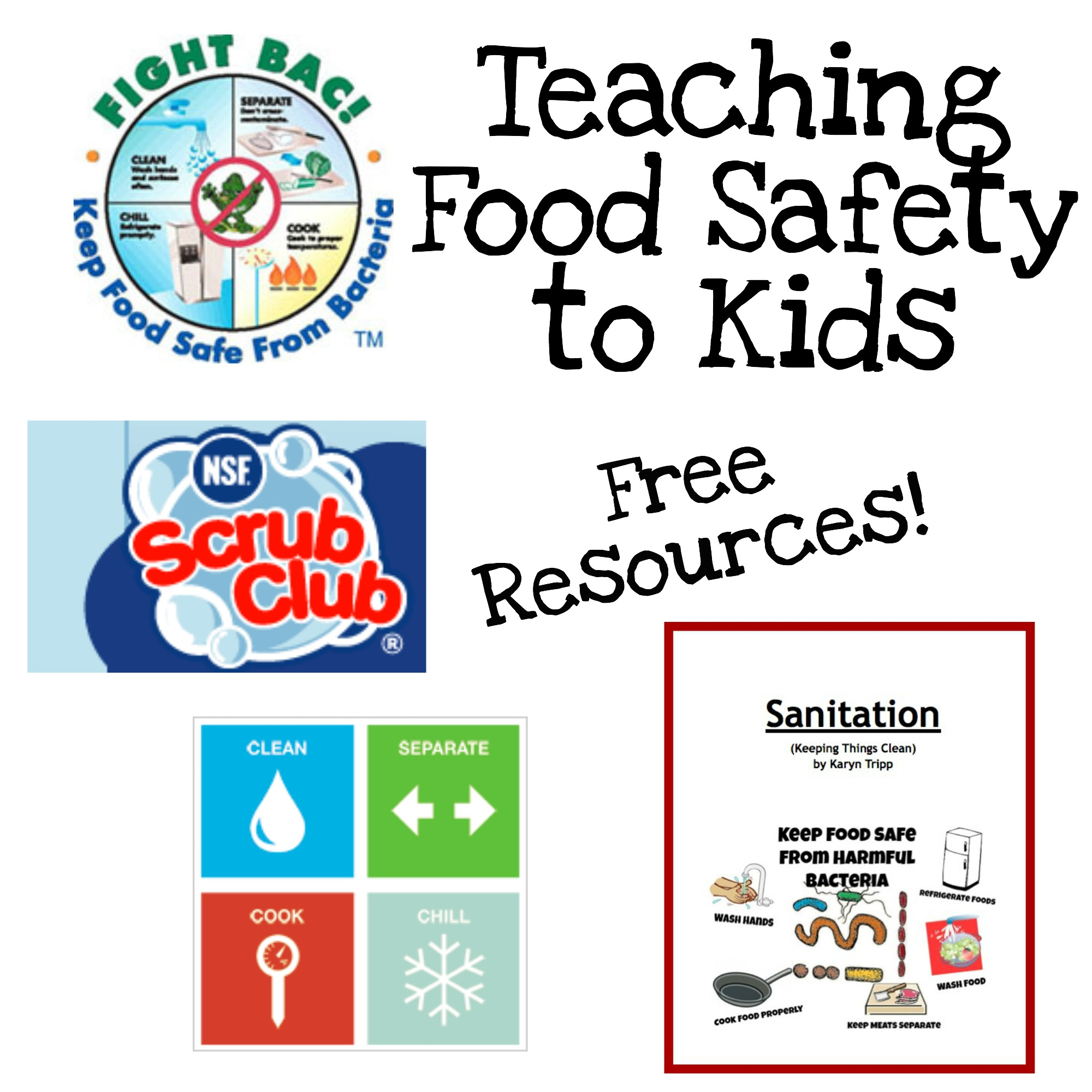 Kitchen Safety For Kids Worksheets: Fun Ways To Teach Food Safety
