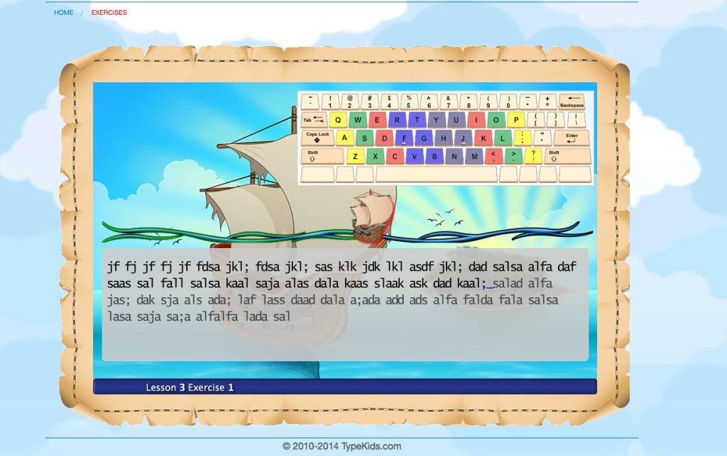 TypeKids  - Online Typing Course