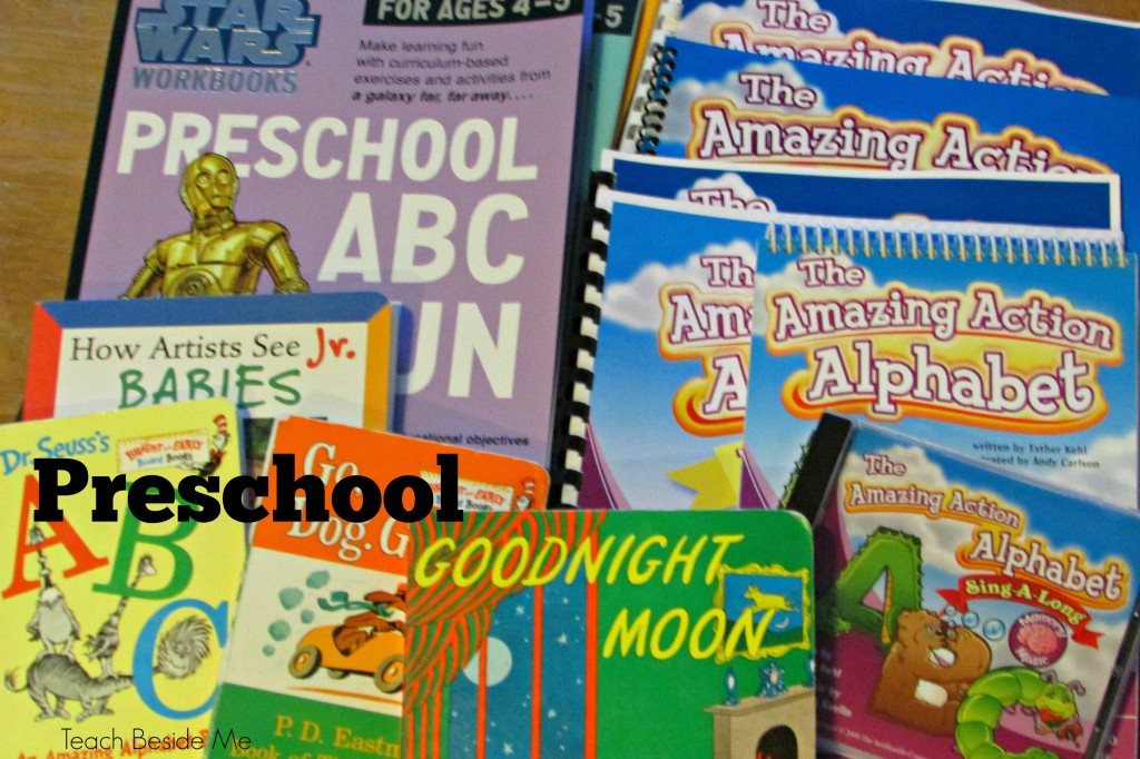 preschool for homeschool