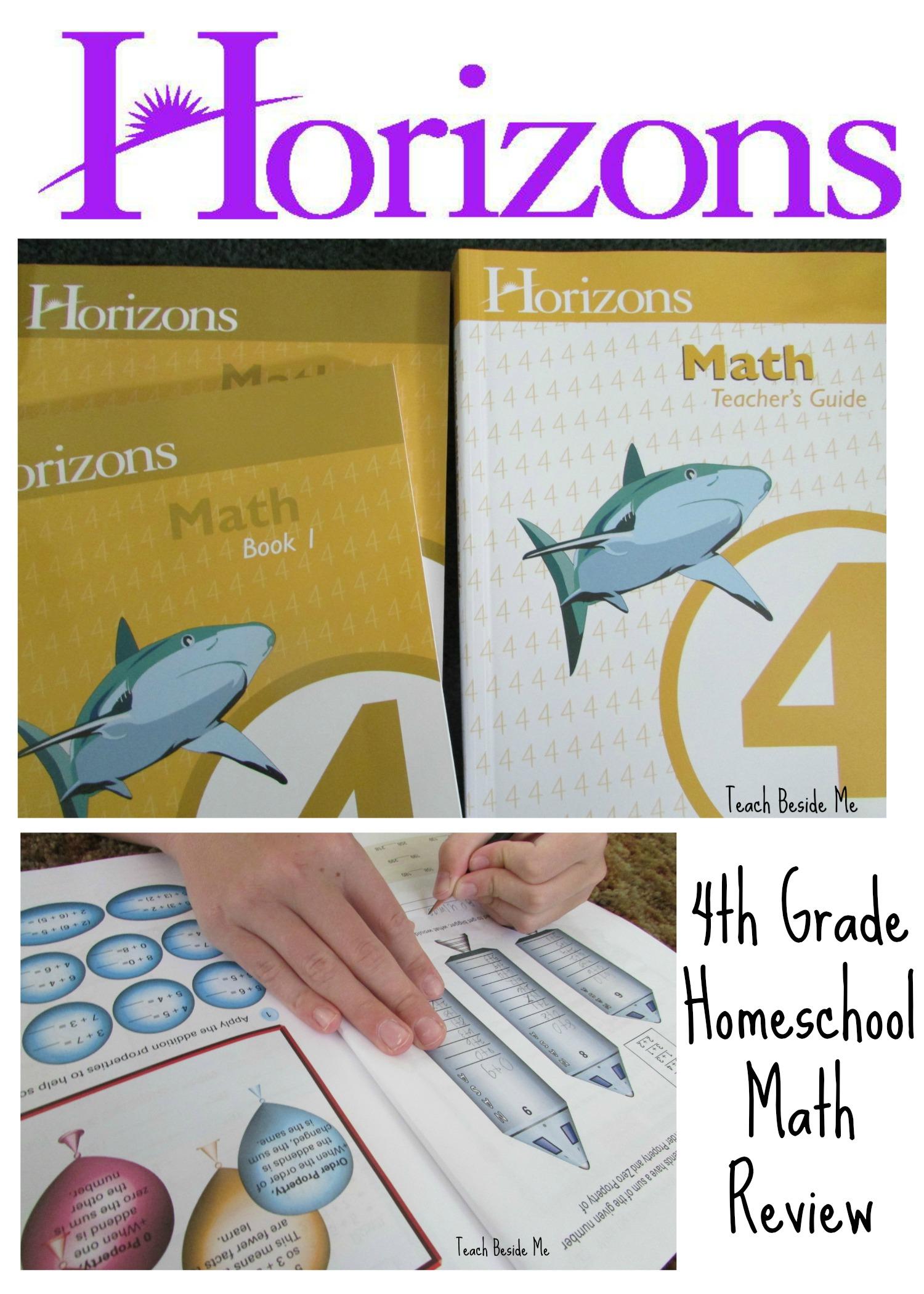 4th grade homeschool math review