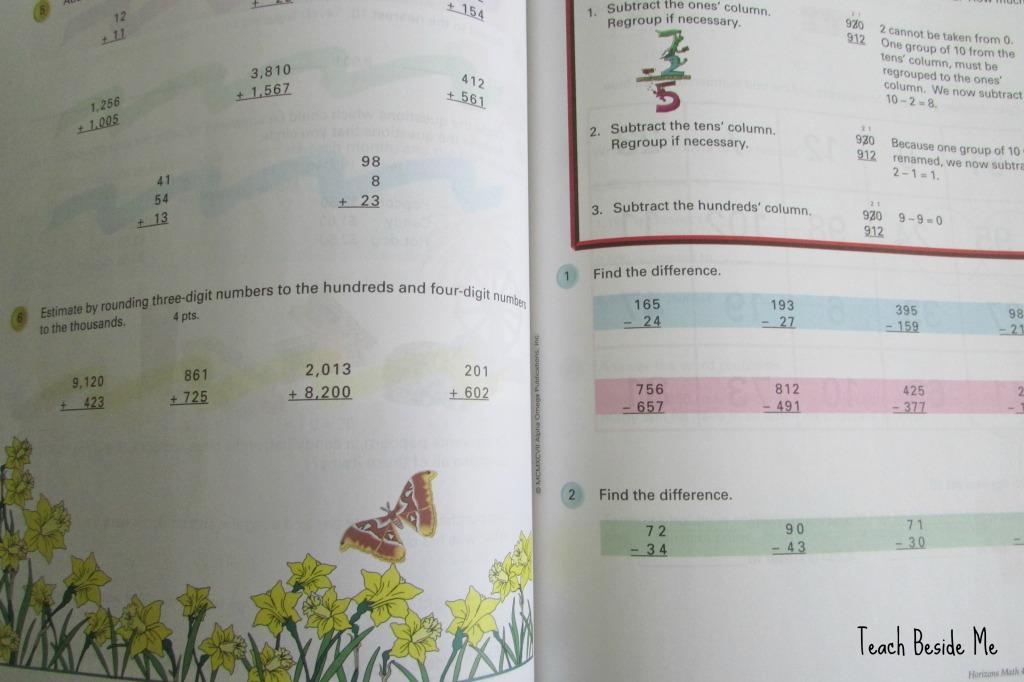 4th grade horizons math
